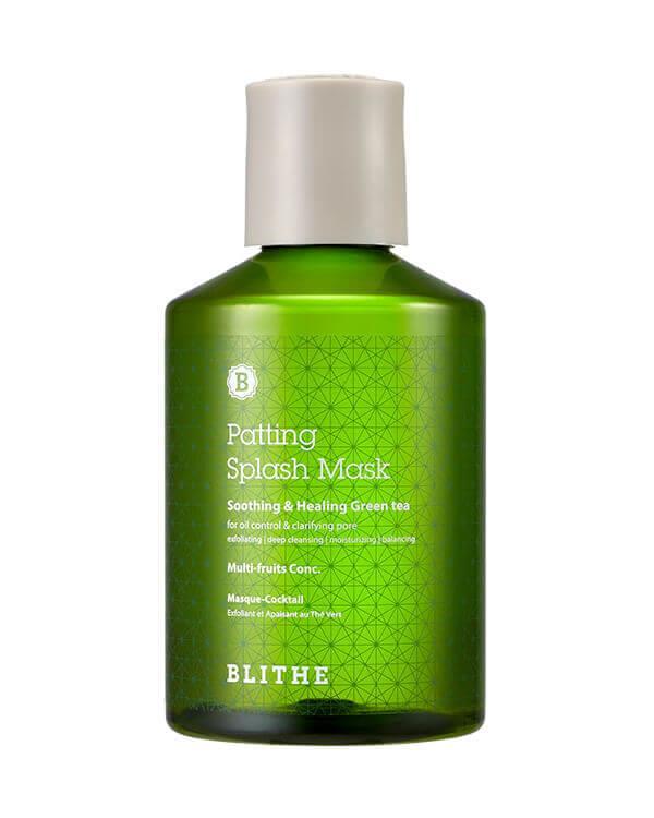 Blithe Patting Splash Mask Soothing & Healing Green Tea Успокаивающая сплэш-маска с экстрактом зеленого чая, 150 мл