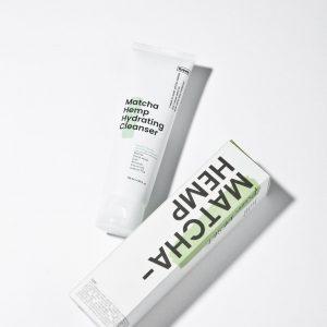 Krave Beauty Matcha Hemp Hydrating Cleanser Гель для очищения лица, 120 мл