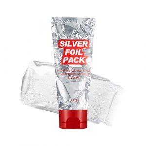 A'pieu Silver Foil Pack Серебряная маска-фольга, 60 мл