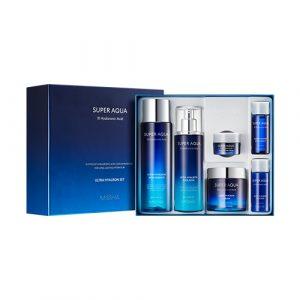Missha Super Aqua Ultra Hyalron 3 Set Подарочный набор увлажняющих средств для лица