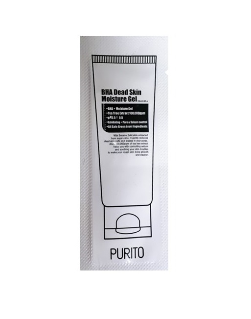 Purito BHA Dead Skin Moisture Gel Увлажняющий ночной гель с кислотами BHA