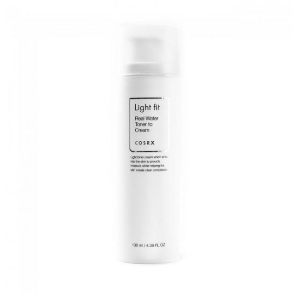 COSRX Light fit Real Water Toner To Cream Увлажняющий тонер-крем, 130 мл
