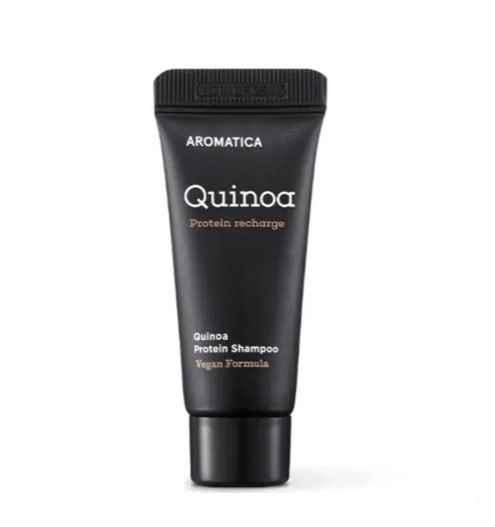 Aromatica Quinoa Protein Shampoo Шампунь с киноа для повреждённых волос, 20 мл
