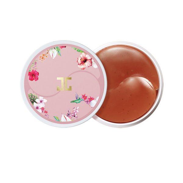 Jayjun Roselle Tea Eye Gel Patch Гидрогелевые патчи с цветами гибискуса