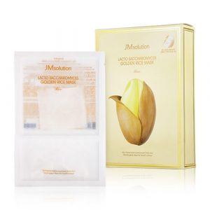JMsolution Lacto Saccharomyces Golden Rice Mask Тканевая маска с лактобактериями