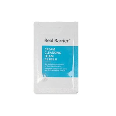 Real Barrier Cream Cleansing Foam Кремовая очищающая пенка