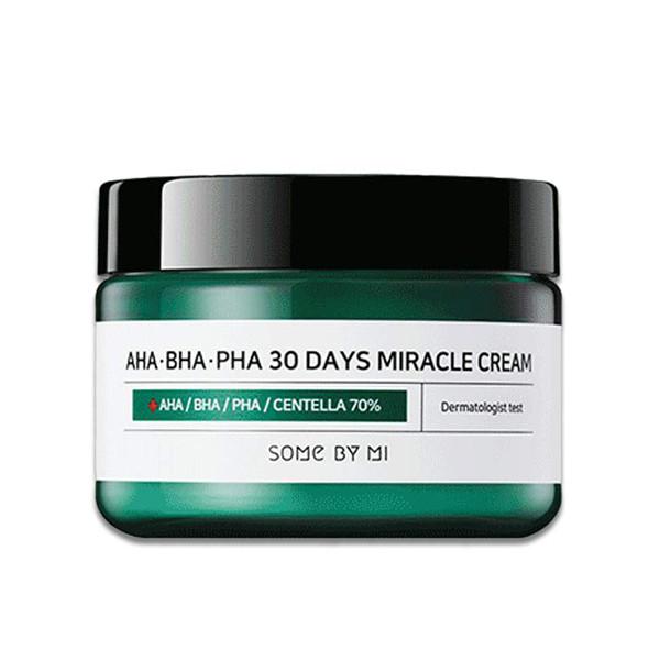 Some By Mi AHA-BHA-PHA 30 Days Miracle Cream Восстанавливающий крем для проблемной кожи, 60 г