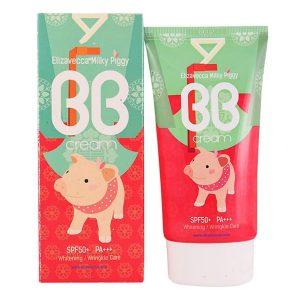 Elizavecca Milky Piggy BB Cream SPF50 Увлажняющий ББ крем с гиалуроновой кислотой, 50 мл