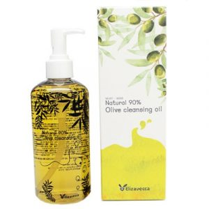 Elizavecca Natural 90% Olive Cleansing Oil Гидрофильное масло с натуральным маслом оливы, 300 мл