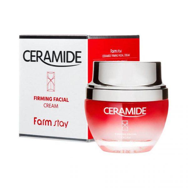 Farmstay Ceramide Firming Facial Cream Укрепляющий крем с керамидами, 50 мл