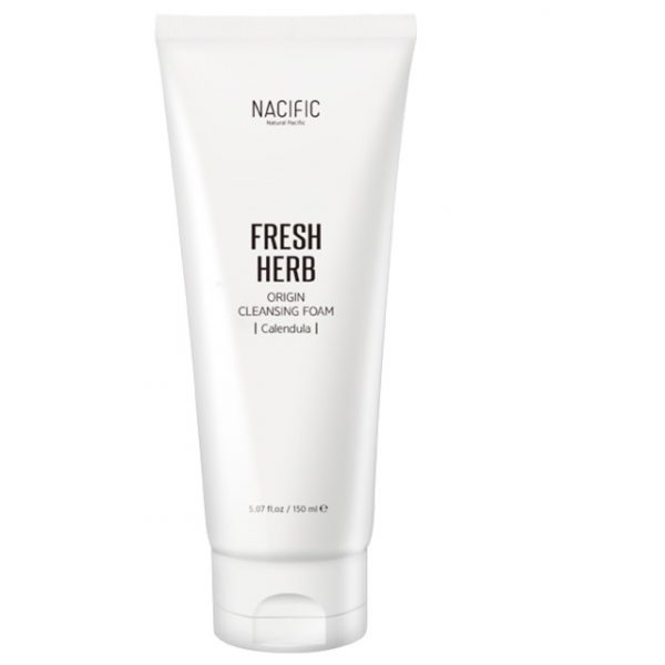 Nacific Fresh Herb Origin Cleansing Foam Пенка для умывания с календулой, 150 мл