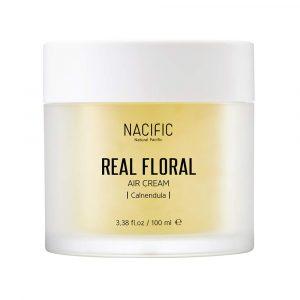 Nacific Real Calendula Floral air Cream Крем с экстрактом календулы, 100 мл
