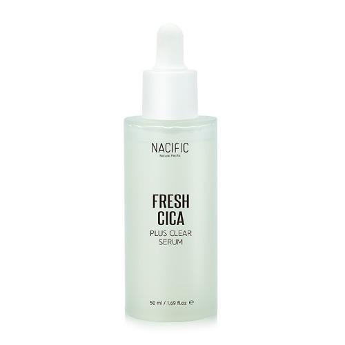 Nacific Fresh Cica Plus Clear Serum Успокаивающая сыворотка для проблемной кожи, 50 мл