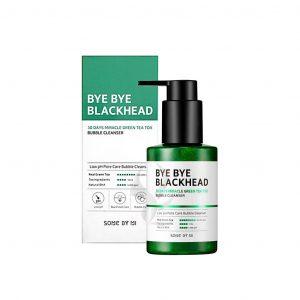 Some By Mi Bye Bye Blackhead 30 Days Miracle Green Tea Tox Bubble Cleanser Маска-пенка от чёрных точек, 120 г