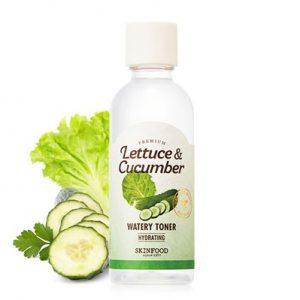 Skinfood Premium Lettuce & Cucumber Watery Toner Увлажняющий тонер с экстрактами листьев салата и огурца, 180 мл