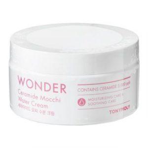 Tony Moly Wonder Ceramide Mocchi Water Cream Крем с керамидами, 300 мл
