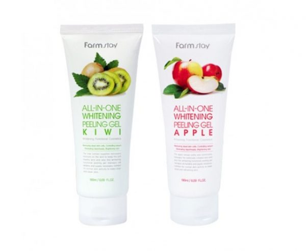 Farmstay All-In-One Whitening Peeling Gel Пилинг-гель для лица, 180 мл