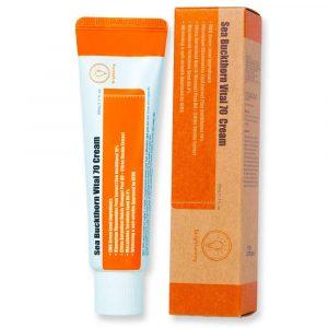 Purito Sea Buckthorn Vital 70 Cream Витаминный крем с экстрактом облепихи, 50 мл