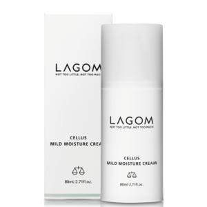 Lagom Cellus Mild Moisture Cream Крем для глубокого увлажнения и восстановления кожи, 80 мл