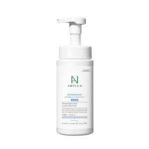 Ample:N Hyaluronshot Bubble Cleanser Гиалуроновая пенка для умывания, 450 мл