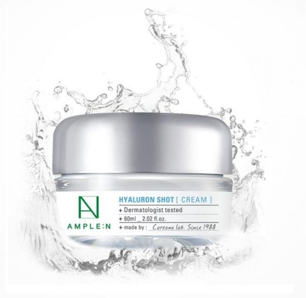 Ample:N Hyaluron Shot Cream Крем с гиалуроновой кислотой, 60 мл