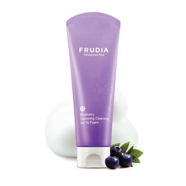 Frudia Blueberry Hydrating Cleansing Gel To Foam Пенка с экстрактом черники, 145 мл