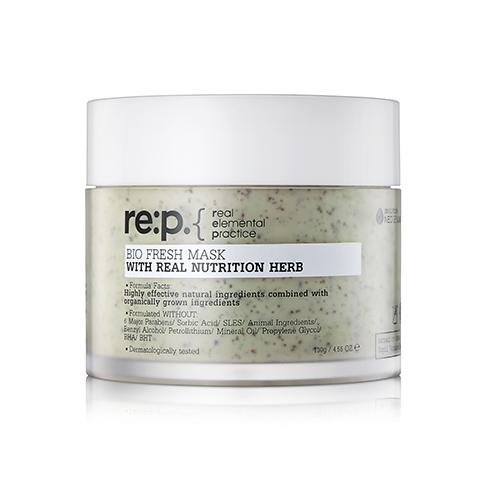 RE:P Bio Fresh MASK With Real Nutrition Herb Питательная маска, 130 г