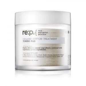RE:P Organic Cotton Treatment Toning Pad Тонизирующие пэды, 90 шт