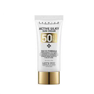 Medi-Peel Active Silky Sun Cream SPF50 Солнцезащитный крем, 50 мл