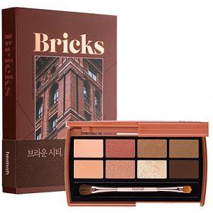 Heimish Dailism Eye Palette Brick Brown Палетка теней