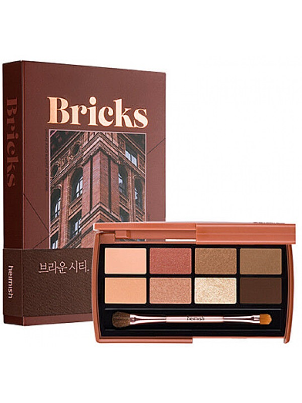 Heimish Dailism Eye Palette Brick Brown Палетка теней