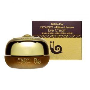 FarmStay Escargot Noblesse Intensive Eye Cream Регенерирующий крем для кожи вокруг глаз, 50 мл
