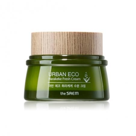 The Saem Urban Eco Harakeke Fresh Cream Освежающий и увлажняющий крем, 60 мл