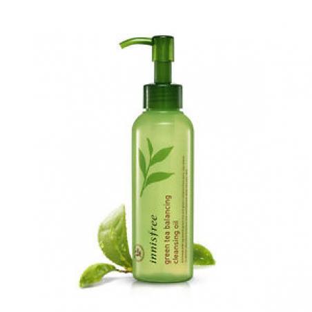 Innisfree Green Tea Cleansing Oil Гидрофильное масло с зеленым чаем, 150 мл