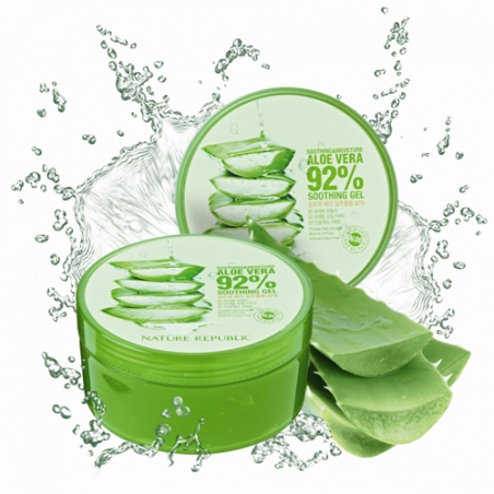 Nature Republic Soothing & Moisture Aloe Vera 92% Soothing Gel Универсальный гель с алоэ, 300 мл