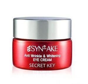 Secret Key Syn-Ake Anti Wrinkle & Whitening Eye Cream Антивозрастной крем для кожи вокруг глаз, 15 мл