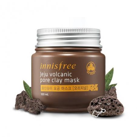 Innisfree Jeju Volcanic Pore Clay Mask Интенсивная маска с вулканической глиной, 100 мл